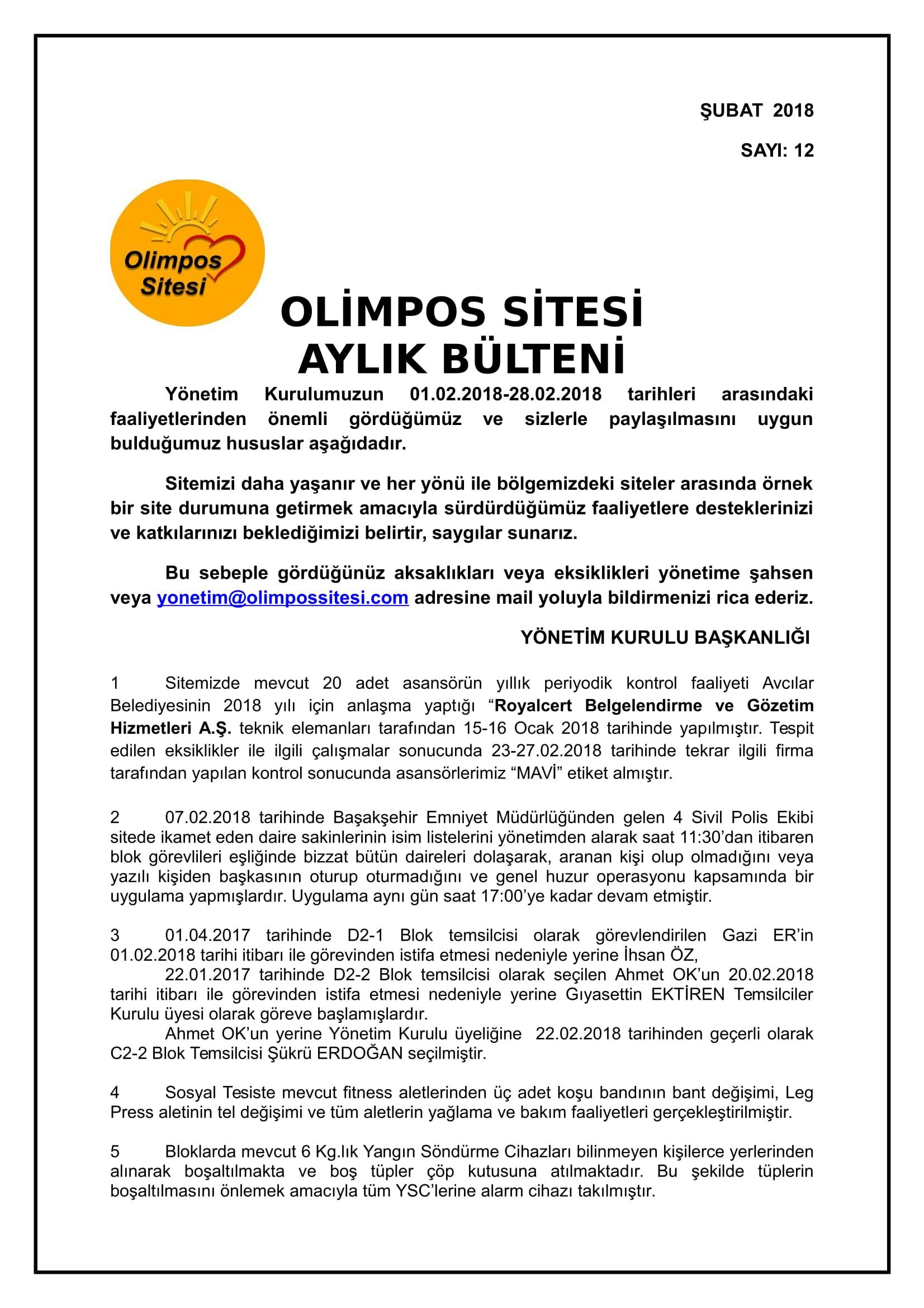 12-01.02.2018 ŞUBAT-2018 BÜLTEN-1