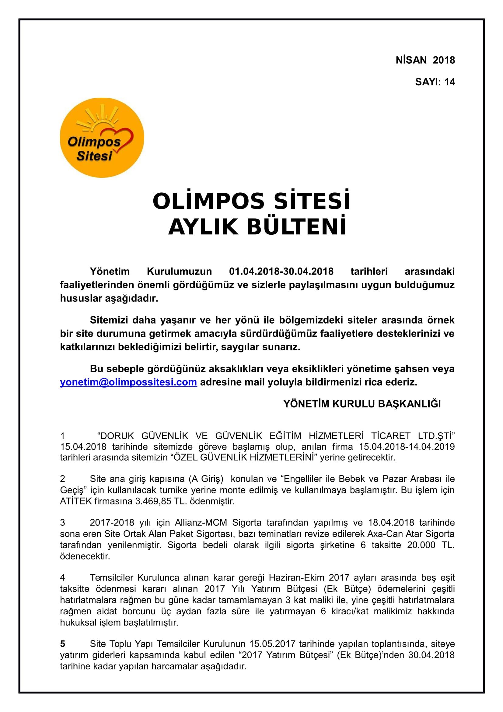14-01.04.2018 NİSAN-2018 BÜLTEN-1