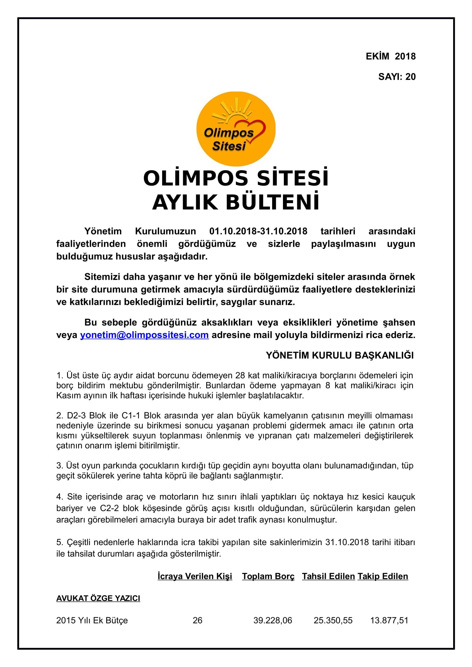 20-01.10.2018 EKİM-2018 BÜLTEN-1